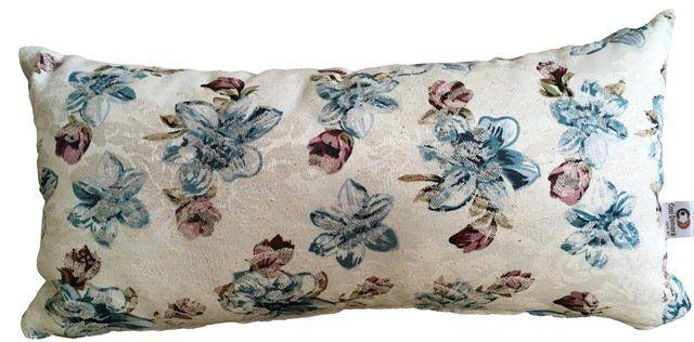 Kit Manta para Sofá e Almofadas Floral Cosi Dimora