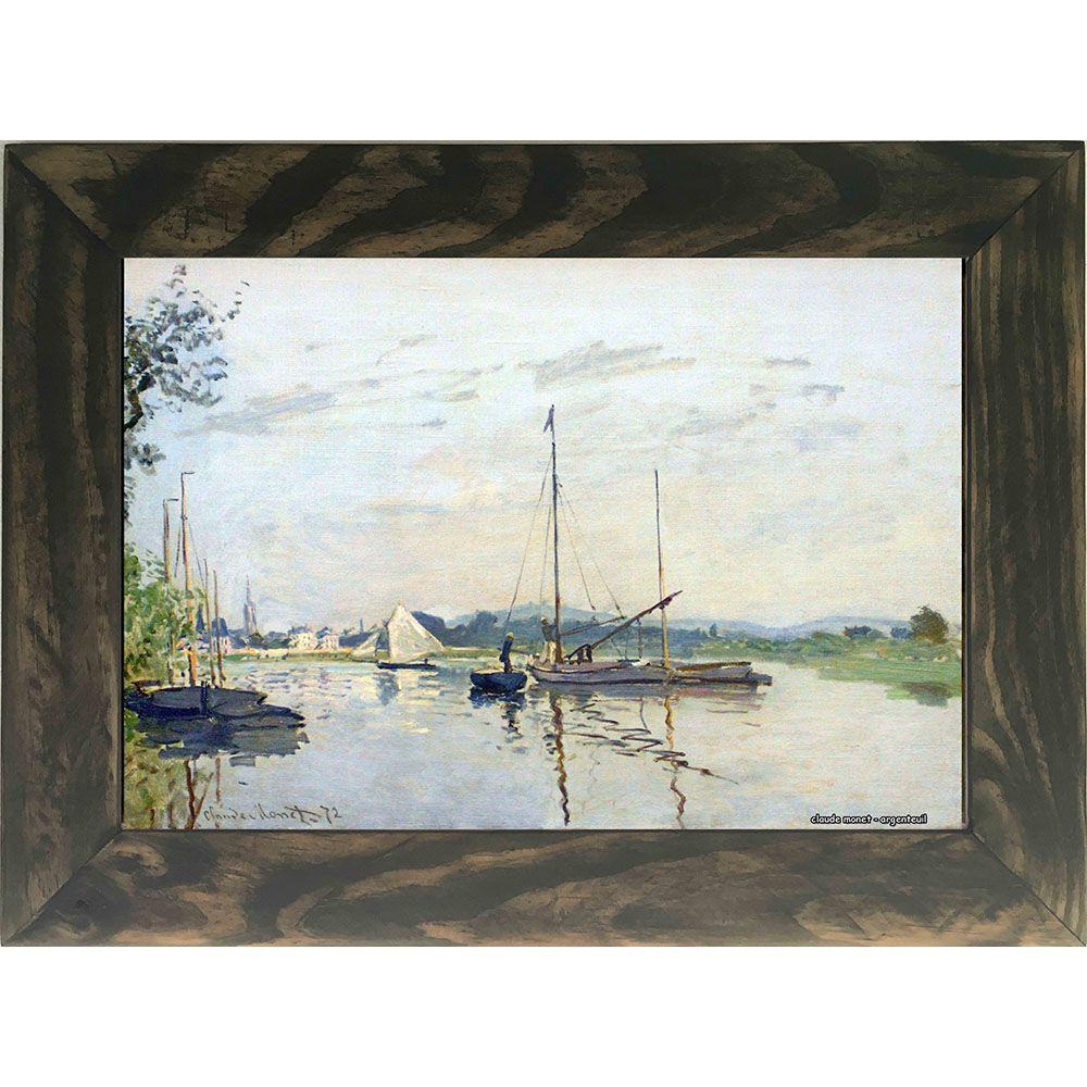 Quadro Decorativo A4 Argenteuil - Claude Monet Cosi Dimora