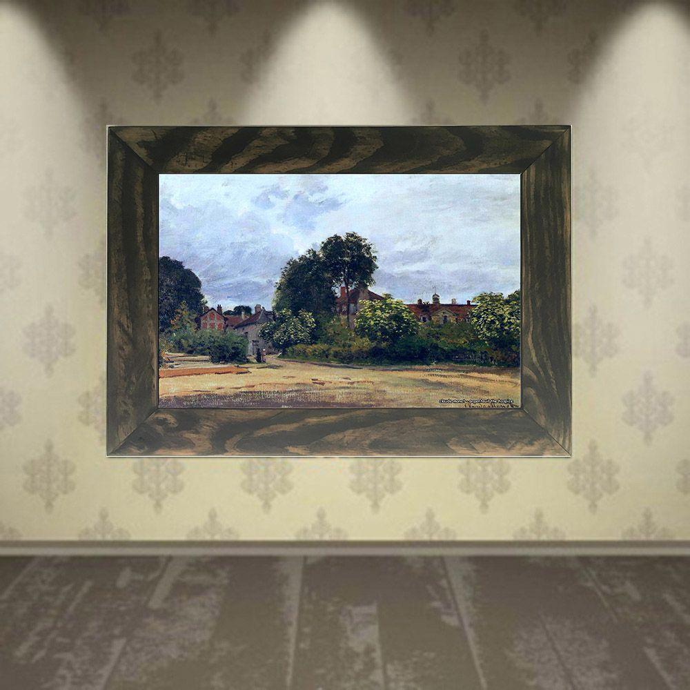Quadro Decorativo A4 Argenteuil the Hospice - Claude Monet Cosi Dimora