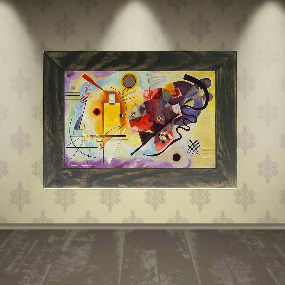 Quadro Decorativo A4 Composition 1 - Kandinsky Cosi Dimora