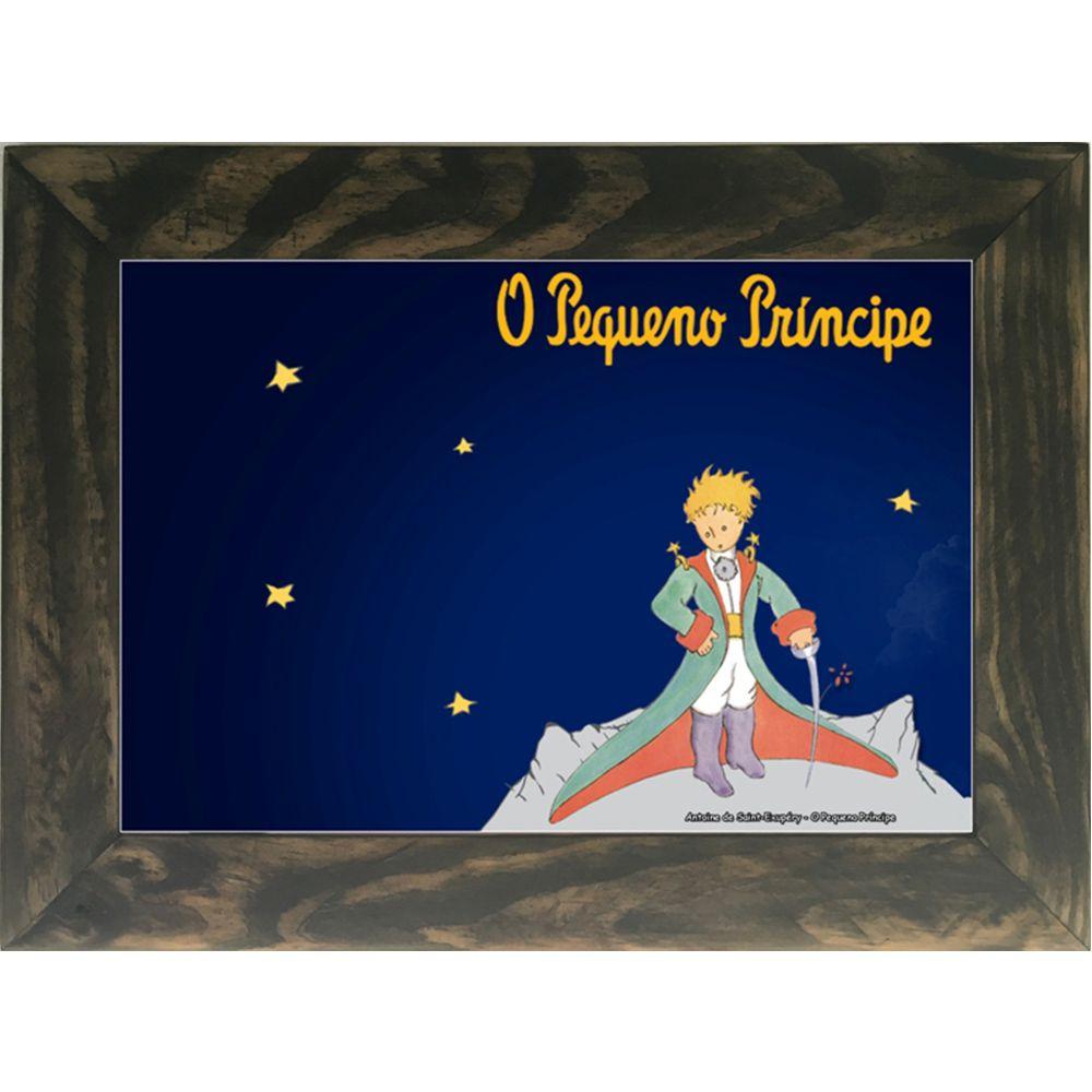 Quadro Decorativo A4 O Pequeno Príncipe 2 - Antoine de Saint-Exupéry Cosi Dimora