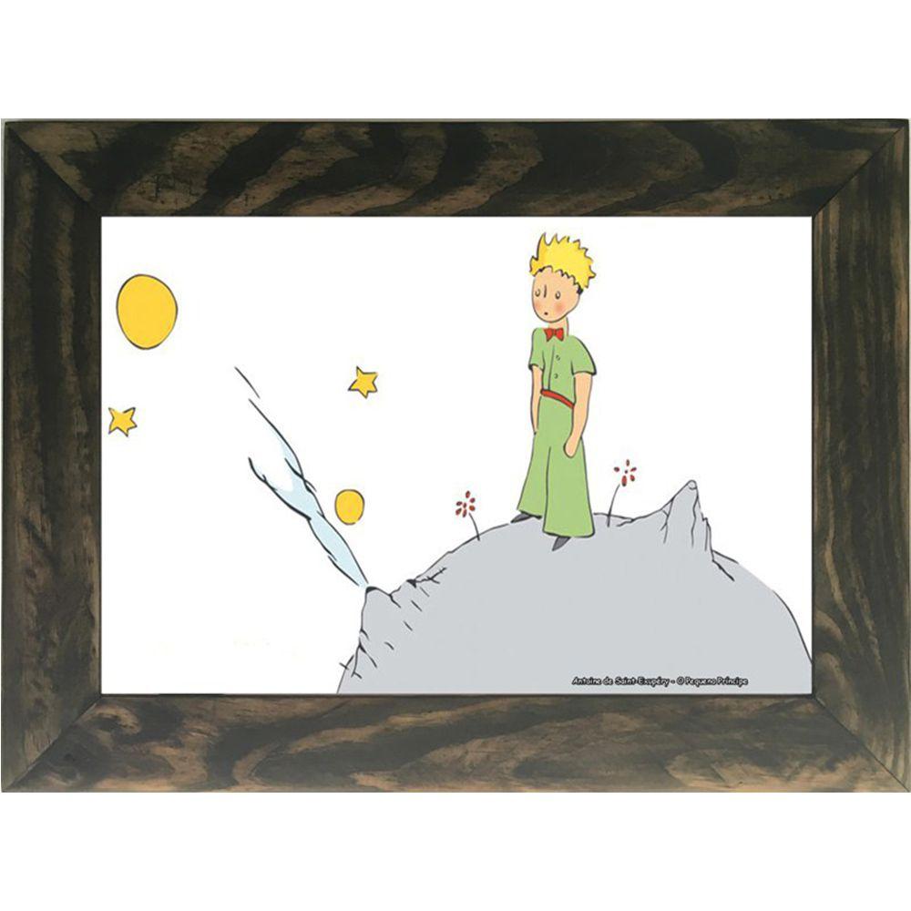 Quadro Decorativo A4 O Pequeno Príncipe Cosi Dimora