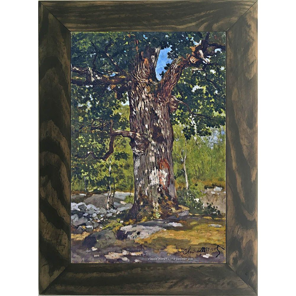Quadro Decorativo A4 The Bodmer Oak - Claude Monet Cosi Dimora