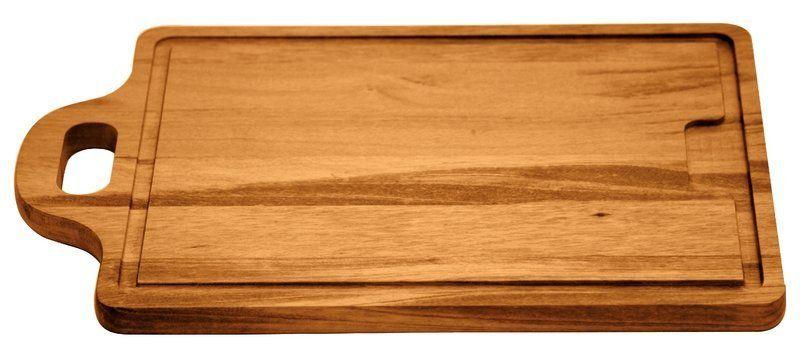 Tábua Grande com Alça para Churrasco Madeira Muiracatiara 50x32cm Tramontina