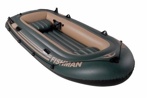 Barco Fishman 400 Com Remo E Inflador - 3,40m