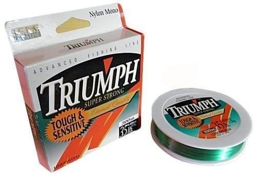 Linha Triumph Super Strong 0,48mm ( 35lb ) 300m