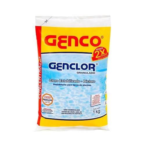 Cloro Granulado Genco - Genclor Estabilizado - 1 Kg