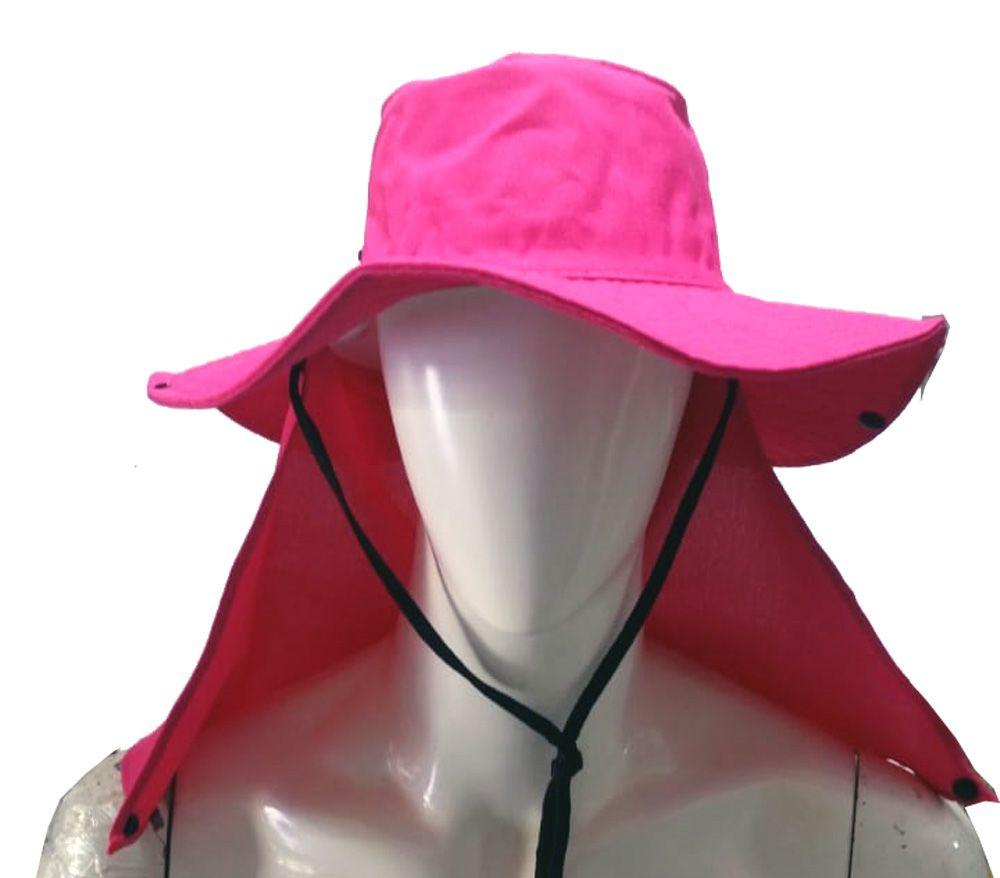 1fcd4594cb087 ... Chapéu Australiano C  Proteção de Nuca - Pesque Fácil ...