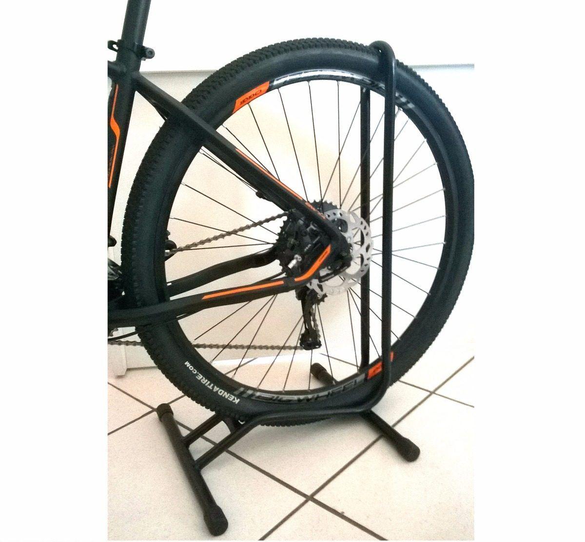 3d32df94b ... Suporte De Bicicleta P chão p  Aro 29 C  Apoio - Aro 26 ...