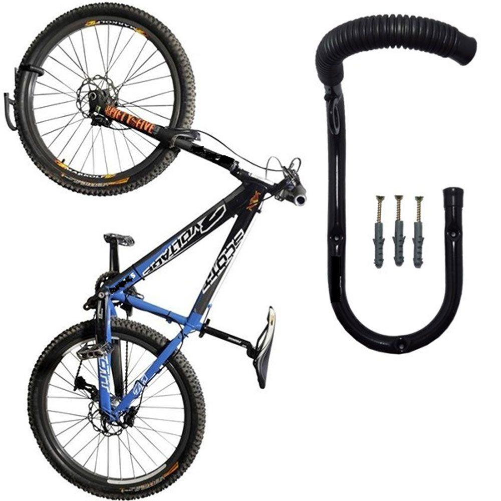 7ec1f2b43 Suporte P Bike - Parede Vertical Fixo Aro 12 ao 29 - Teto - Pesque ...