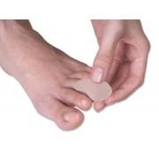 Separador Protetor de Gel para Dedos Anti Calo Formato Plano
