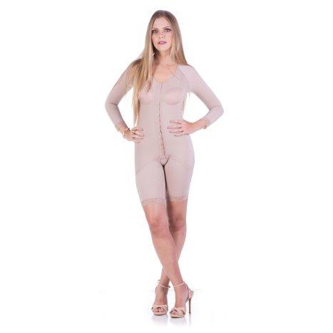 Cinta Modeladora Pós Cirúrgica Meia Perna com Mangas - Model Forma  - Servimedic Technology