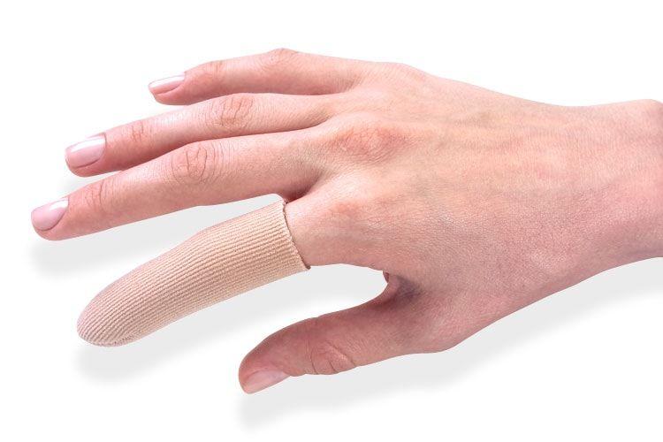 Dedeira Protetora de Gel para Dedos Anti Calos - Ponta c/ Tecido