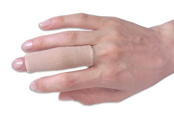 Dedeira Tubo Protetor em Gel para Dedos Anti Calo - Sem Ponta c/ Tecido  - Servimedic Technology