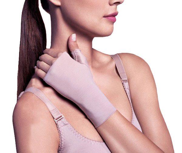 Luva de Proteção UV Curta Sem Dedos - Par