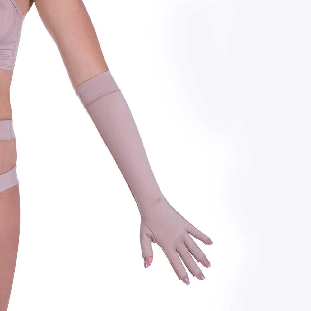 Luva de Proteção das Mãos Longa Com Dedos  - Par Model Forma  - Servimedic Technology