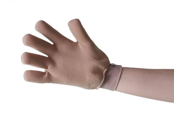 Luva gel Compressiva p/ Queimaduras nas Mãos e tratamento pós operatório  - Servimedic Technology