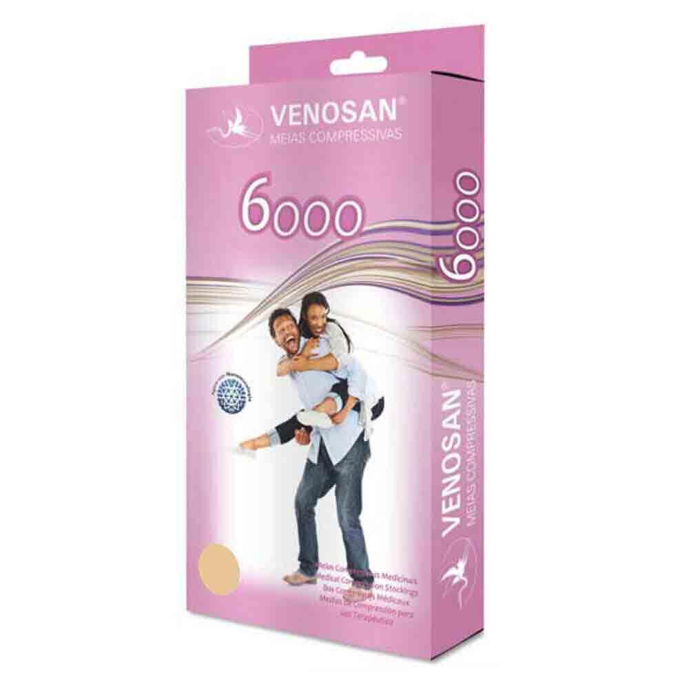 Meia de Compressão 20-30 mmHg 3/4 Venosan 6000