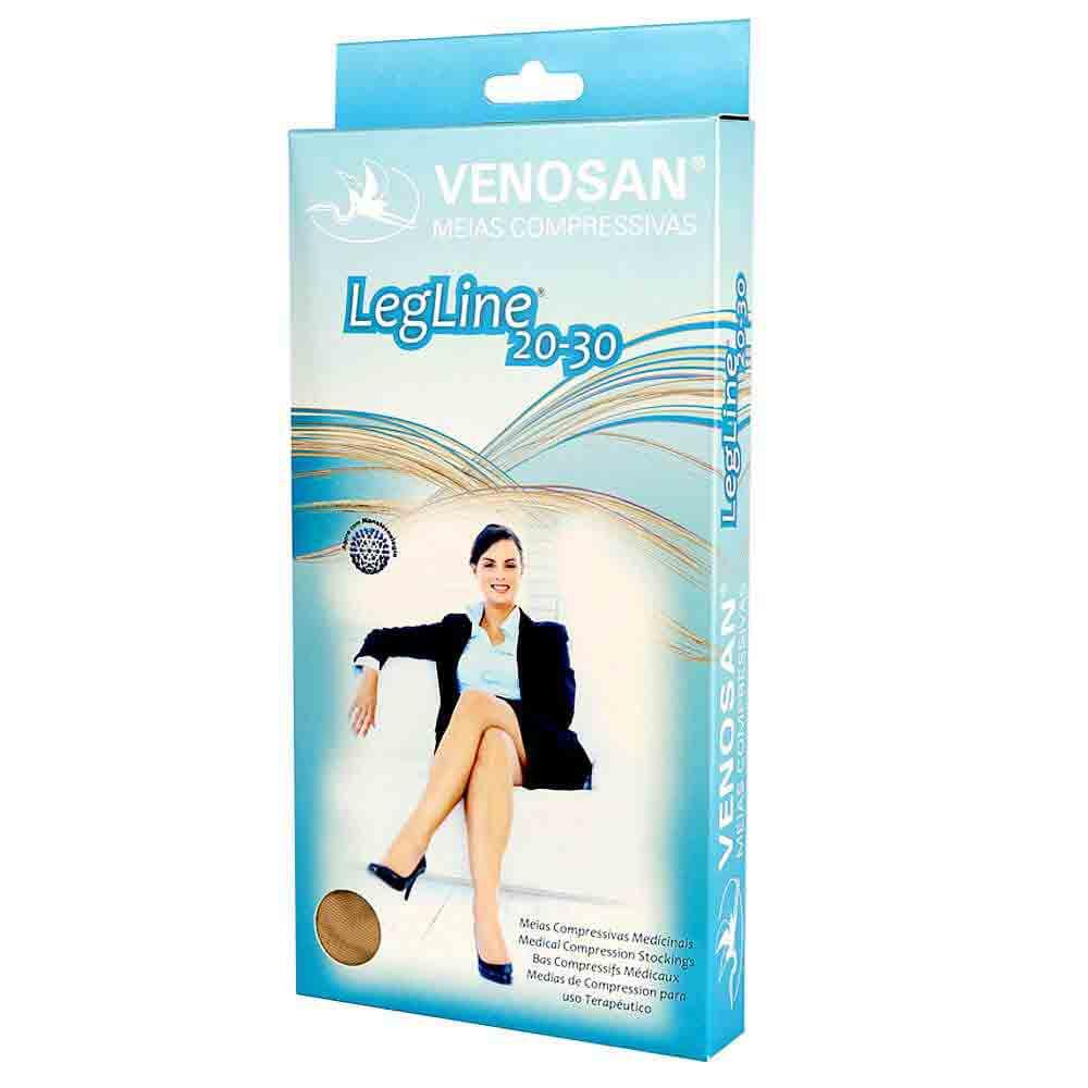 Meia de Compressão 20-30 mmHg 3/4 Venosan Legline
