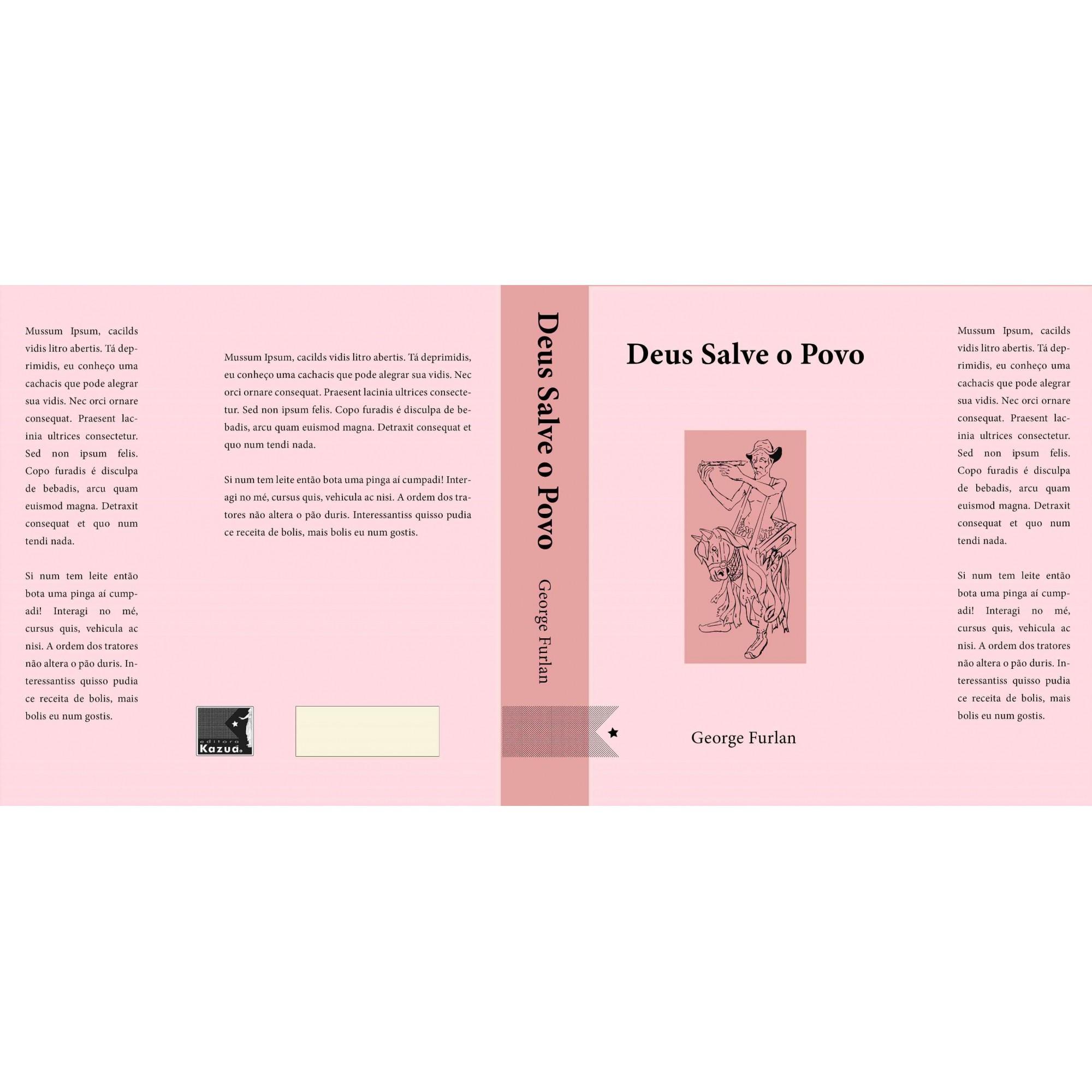 Deus  Salve o Povo, de George de Paula Furlan - Pré-venda