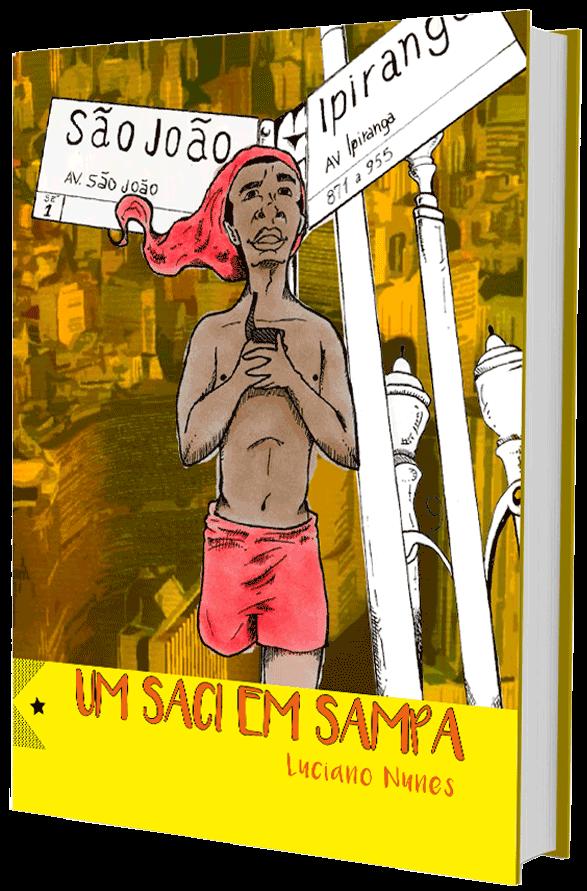 Um Saci em Sampa, de Luciano Nunes