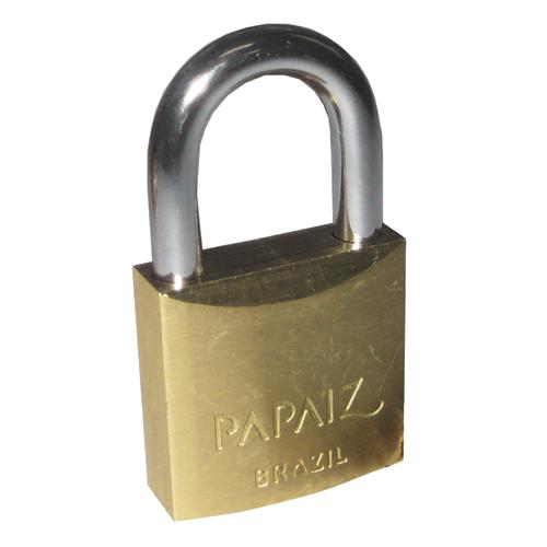 Cadeado Papaiz Segredos Iguais 25mm - 12251