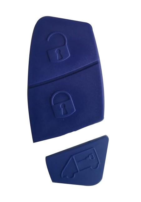 Capa P/ Alarme p/ Canivete Fiat Stilo Azul 3 Botões - 24107