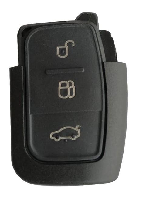 Carcaça P/ Controle Alarme Fiesta / Focus  mod. Canivete 3 Botões - 65790