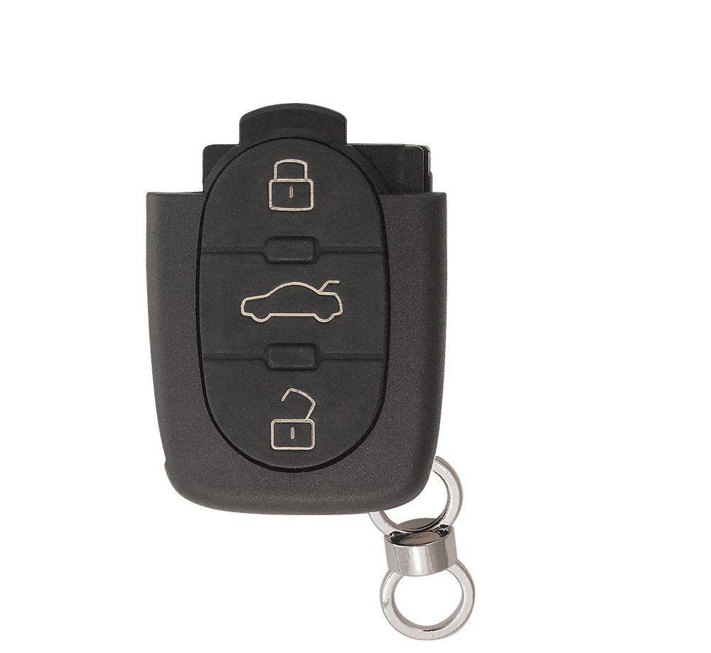 Carcaça P/ Controle Audi Telecomando 3 Botões (Oca) -  16596