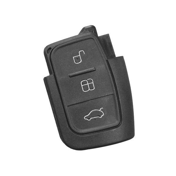 Carcaça para Controle Alarme Fiesta/Focus 3 Botões (Oca) - 65789