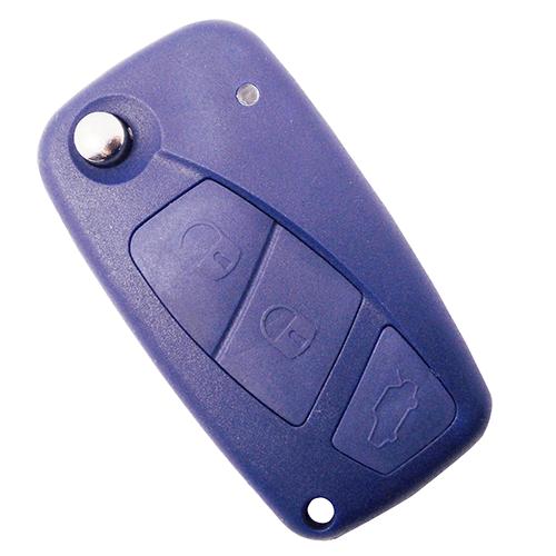 Chave Canivete Fiat Azul Oca - 7558