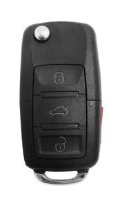 Chave Canivete Ford Controle 3 Botões + Panico - 60496