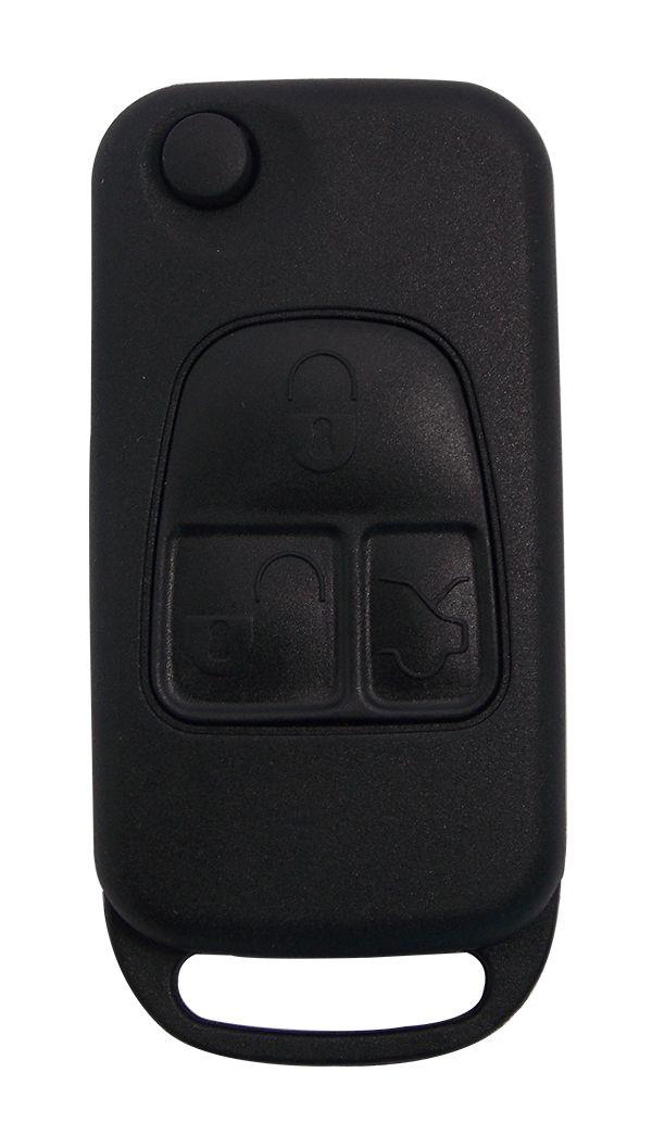 Chave Canivete Mercedes benz 3 botões oca - 60497