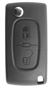 Chave Canivete Peugeot 307 2 botões c/ lâmina oca - 15912