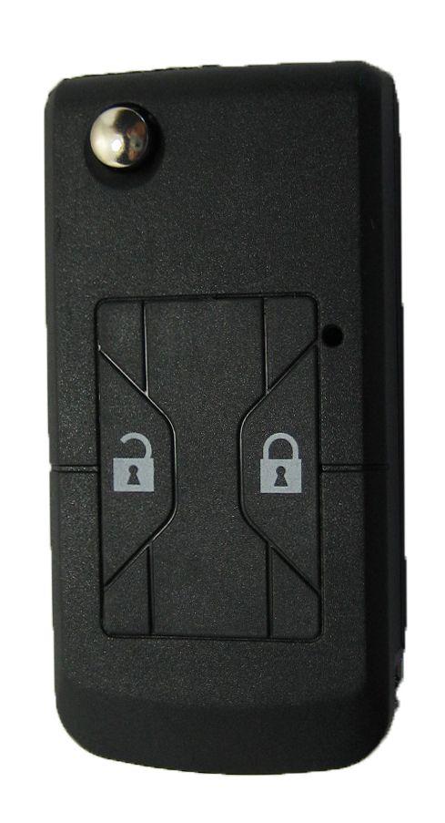 Chave Canivete Toyota p/ adaptação alarme 2 botões - 7454