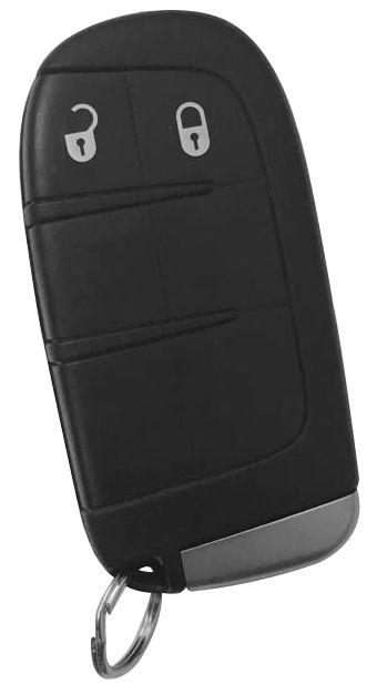 Chave Freemont 2 botões completa Freq. 433MHZ - 60325