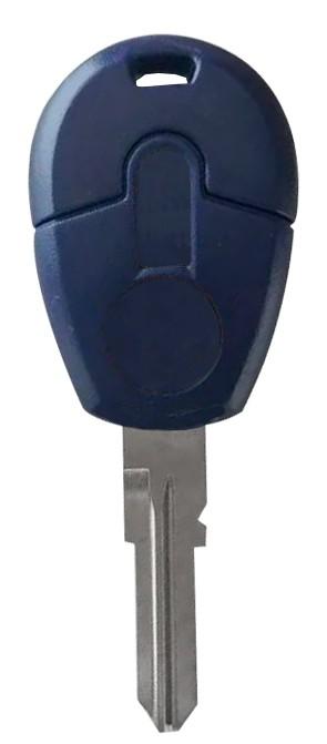 Chave Plástica Fiat Palio Mod. Yale S/ Transponder Azul - 15911