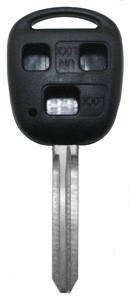 Chave Plástica Toyota RAV4/Hillux ANT. 3 Botões - 2214