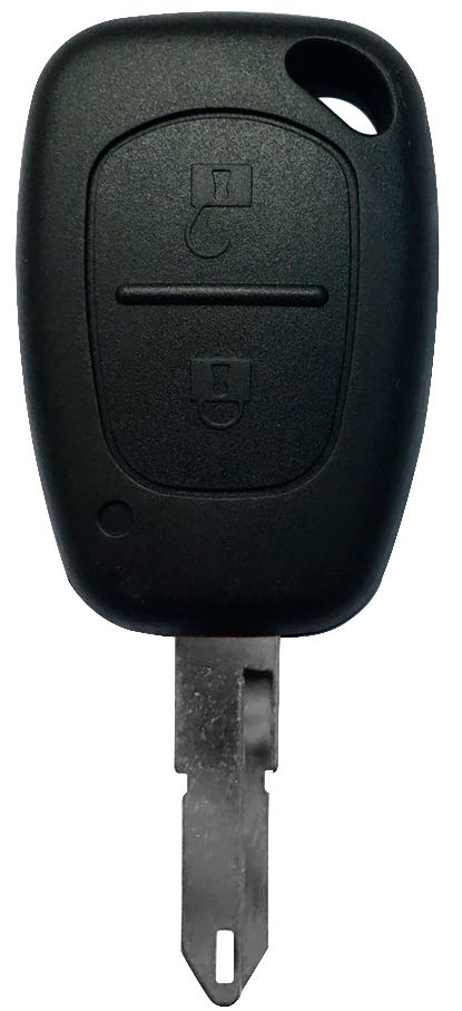 Chave Clio 2 botões PCF 7946 433Mhz - 60408