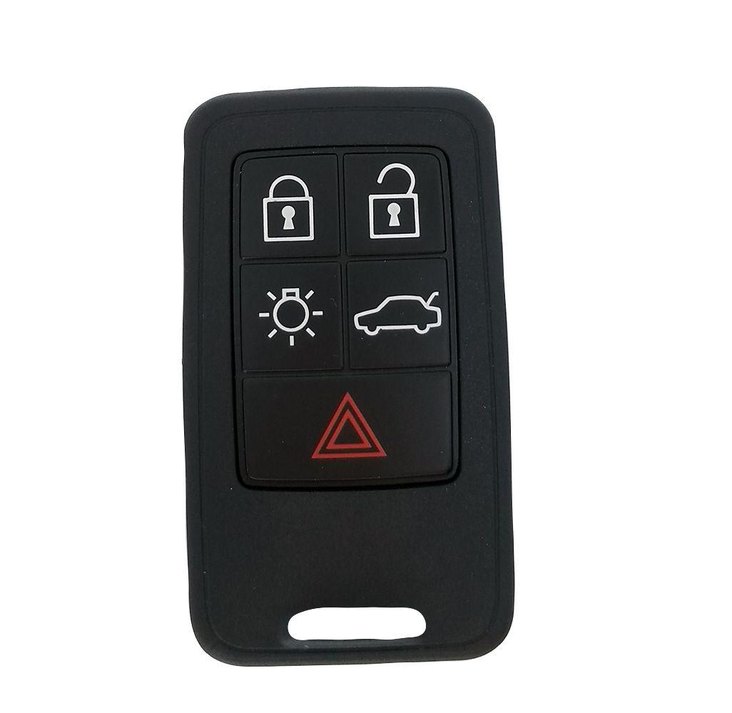Chave Smart Key Volvo S80  5 Botões Completa FREQ.434MHZ  PCF7945 - 60440