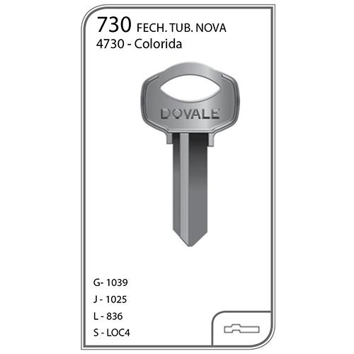 Chave Yale Lockwell - 730 - VENDA SOMENTE PELO TELEVENDAS