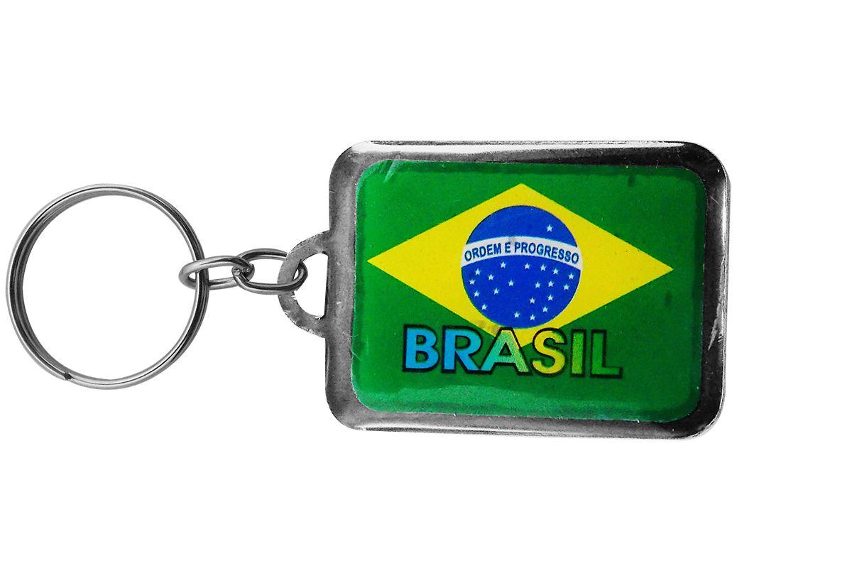 Chaveiro Chapinha brasil PCT c/ 10 - 8143