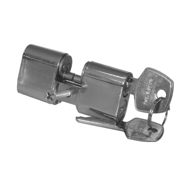 Cilindro 3F Modelo Hela Bipartido Cromado - 31045