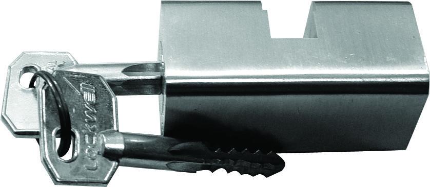 Cilindro Lockwell tetra Grande Cromado  - 34006