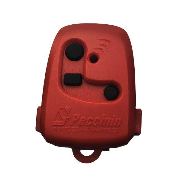 Controle para portão Peccinin Vermelho - 55105