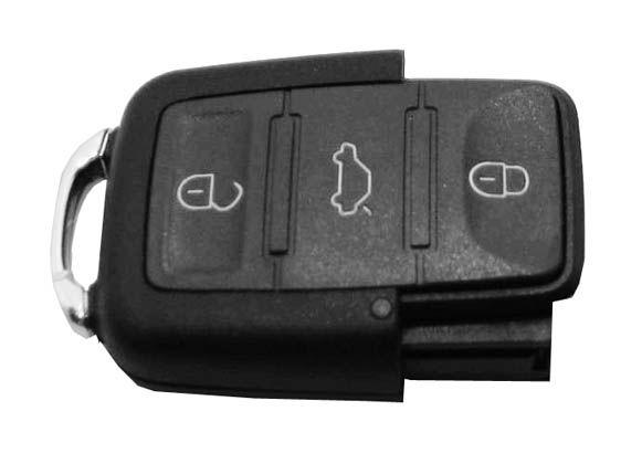 Controle Telecomando GOL G5  3 Botões 433 MHZ - 60491