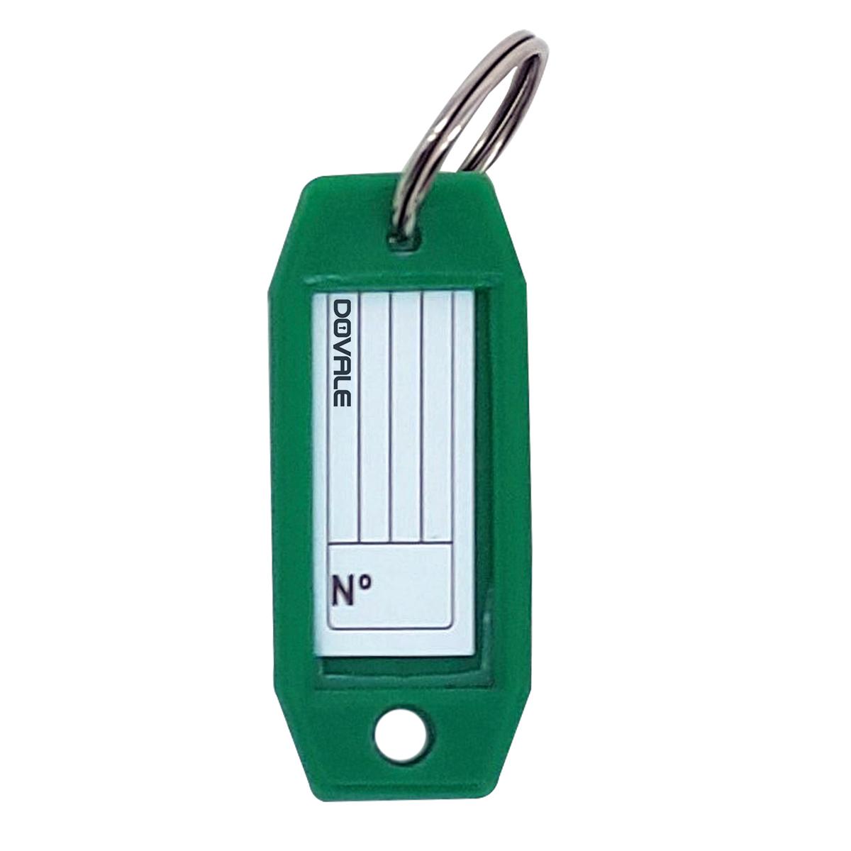 Etiqueta Dovale p/ Chaves Modelo 3 Verde C/10 unid. - 77242