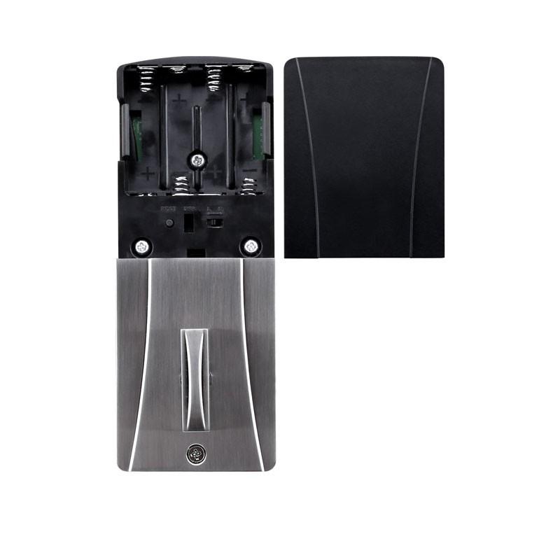 Fechadura Digital Eletrônica Turbolock TL-01 TL-200 Prata - 42121