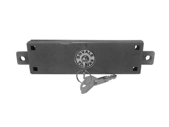 Fechadura Dovale Porta de Aço Meio Tetra - 44020