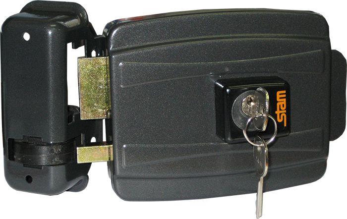 Fechadura Elétrica Stam CIL.40MM Grafite - 40091
